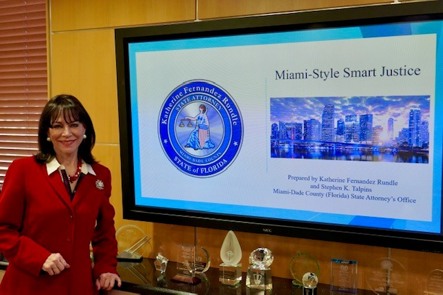 Photo: State Attorney Fernandez Rundle at SMKBA event