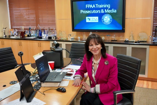 PHOTO: State Attorney Fernandez Rundle during FPAA training